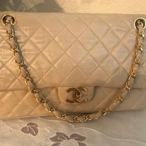 Vintage (1970s) Chanel quilted bag